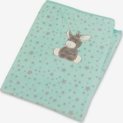 Kūdikio antklodė 'Emmi' iš STERNTALER , spalva - turkio spalva / šviesiai pilka / mišrios spalvos, Prekių apžvalga
