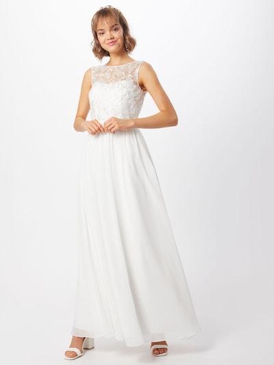 Unique Kleid in weiß, Modelansicht
