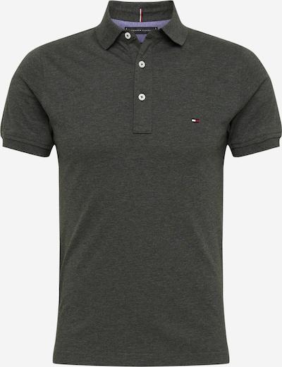 Tricou TOMMY HILFIGER pe negru amestecat, Vizualizare produs