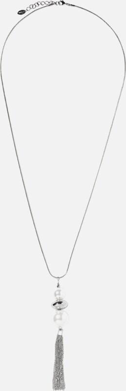 Chaîne Détiquette Noire S.oliver Avec Un Pendentif Espiègle