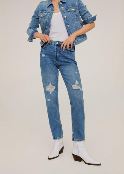 MANGO Jeans 'Relax' in kobaltblau, Modelansicht