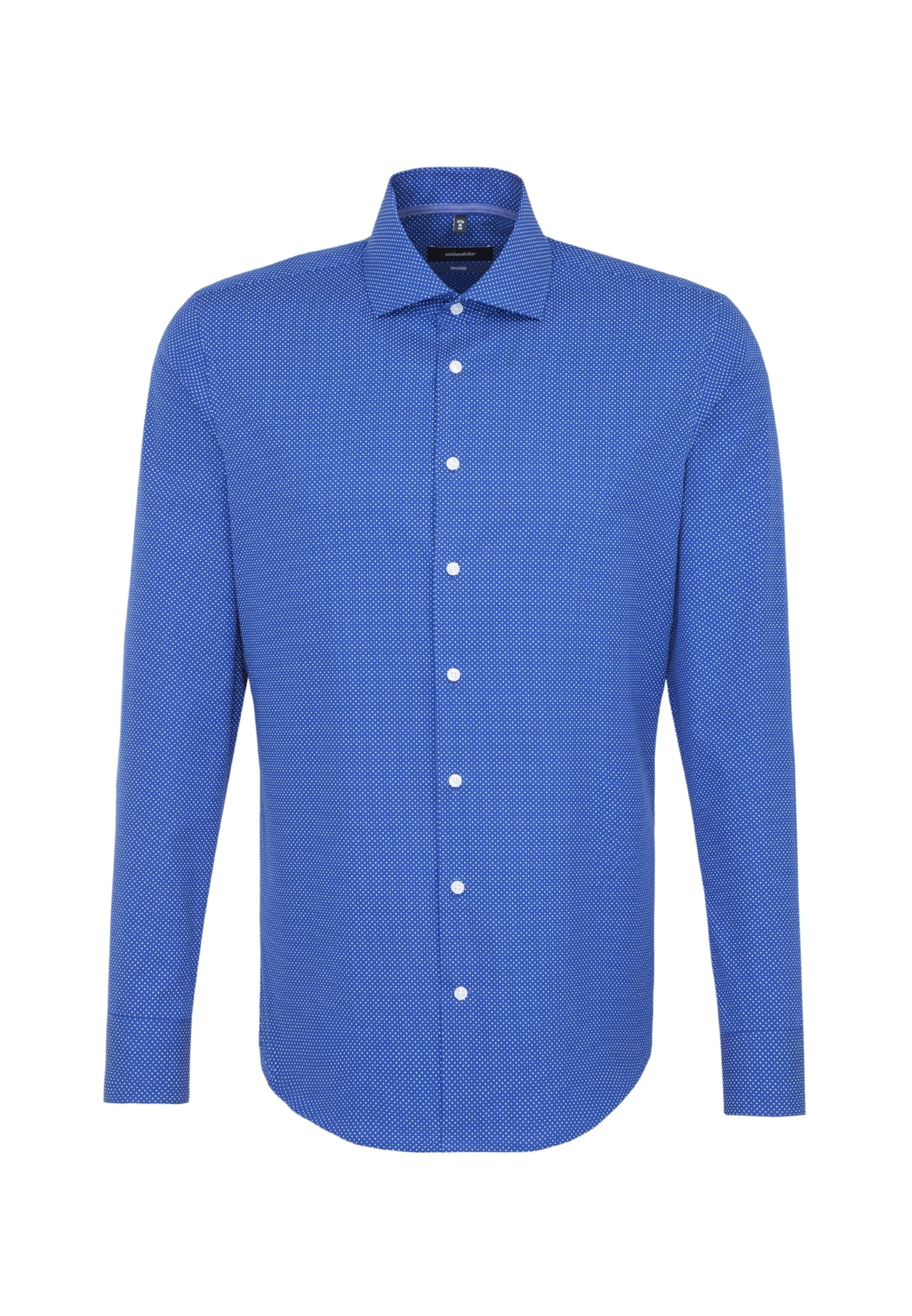 Hemd Seidensticker In 'tailored' 'tailored' Seidensticker 'tailored' In Seidensticker Hemd BlauWeiß BlauWeiß Hemd xWerCBQdo