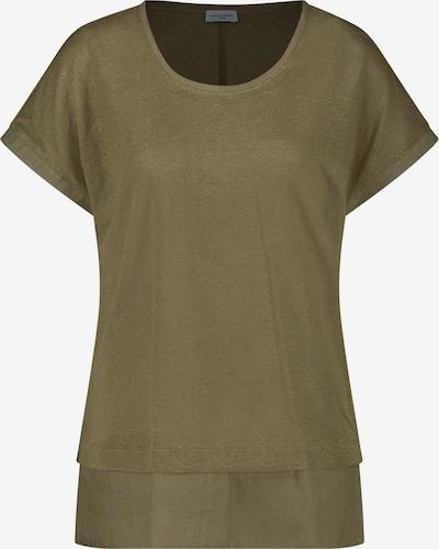 GERRY WEBER T-Shirt 1/2 Arm Shirt mit Saumbesatz in grün, Produktansicht