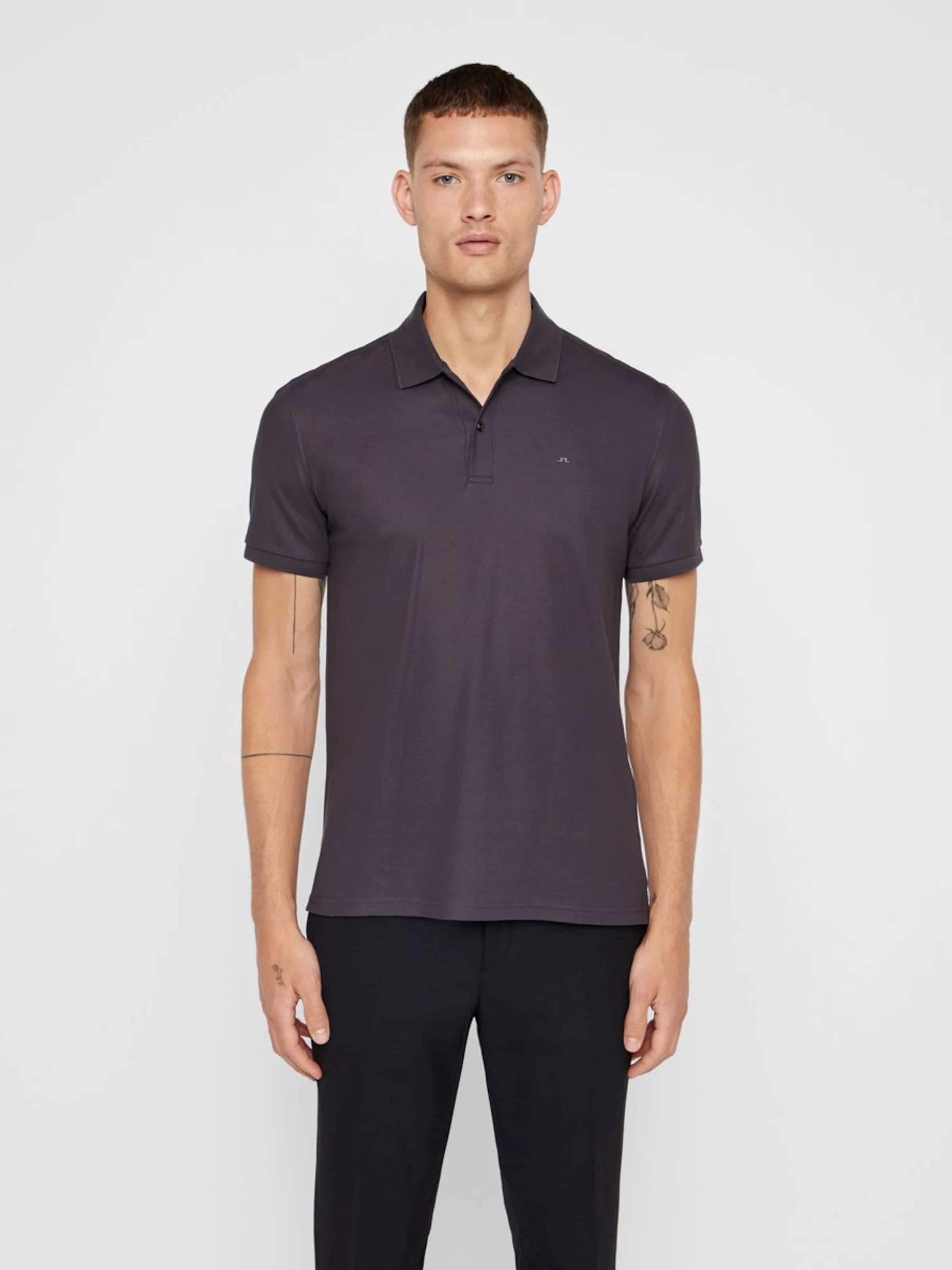 lindeberg shirt 'troy' En J T Anthracite 0OwPkn