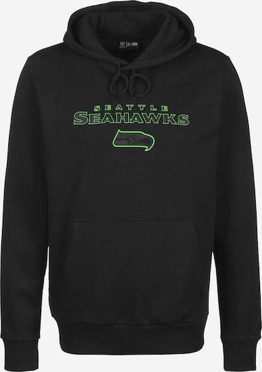 NEW ERA Hoodie ' NFL Pull Over Seattle Seahawks ' in schwarz, Produktansicht