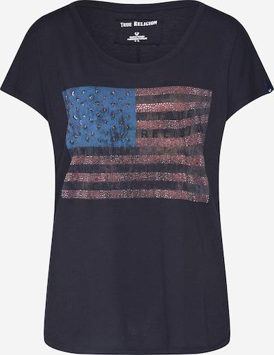 True Religion Shirt 'CREWNECK TSHIRT RELAX AMERICAN' in de kleur Zwart, Productweergave