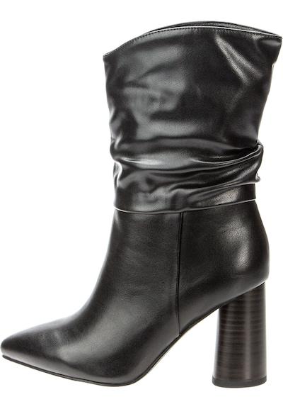 BETSY Halbhohe Stiefel in schwarz, Produktansicht