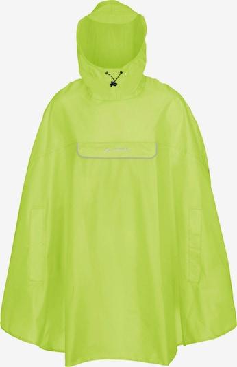 VAUDE Regenjacke 'Valdipino' in neongelb, Produktansicht