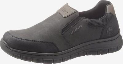 RIEKER Slipper in graphit / schwarz, Produktansicht