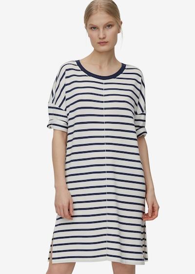 Marc O'Polo Kleid in dunkelblau / weiß, Modelansicht