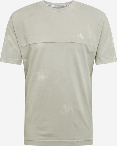 Tricou 'LAVA DYE TEE' Calvin Klein Jeans pe gri deschis, Vizualizare produs