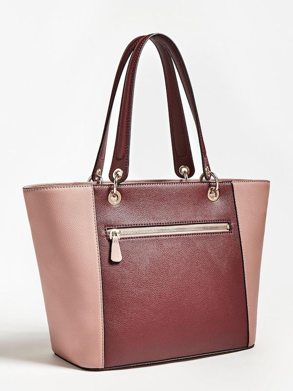 GUESS Shopper 'Kamyn' in rosa merlot weiß | ABOUT YOU