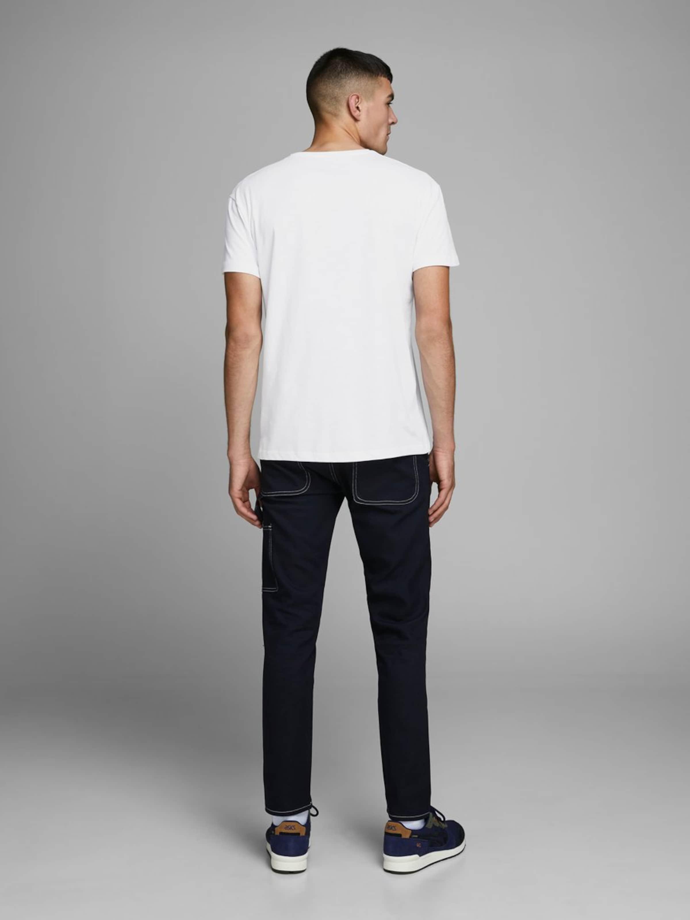JACK JONES T-Shirt en blanc X5C7RR