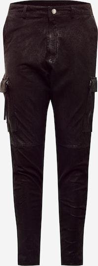 tigha Pantalon cargo 'Zeno' en noir, Vue avec produit