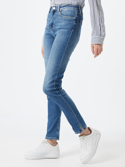 TOMMY HILFIGER Jeans 'RIVERPOINT CIGARETTE' in blue denim, Modelansicht