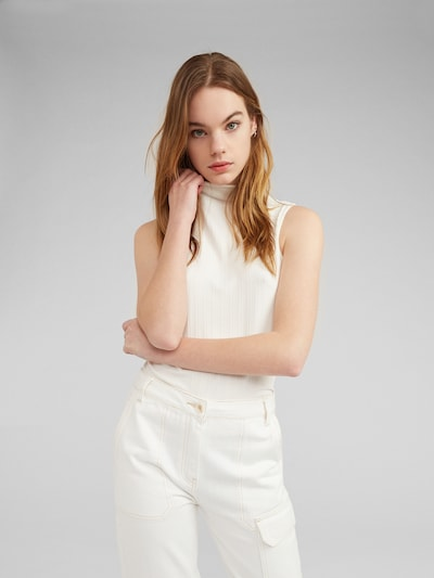 EDITED Top 'Mariell' in creme, Modelansicht