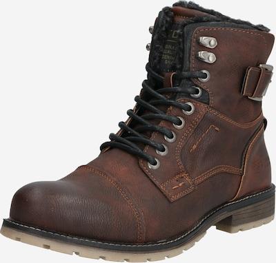 TOM TAILOR Čizme sa vezicama u tamno smeđa, Pregled proizvoda
