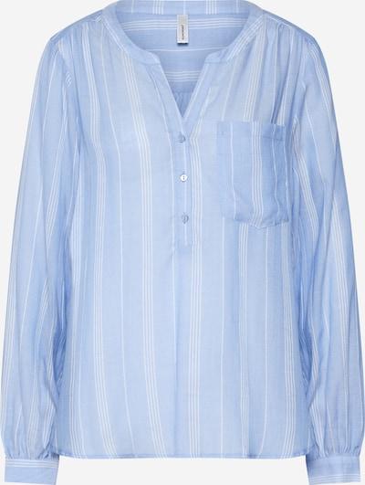 Bluză 'GAIL' Soyaconcept pe albastru deschis / alb, Vizualizare produs