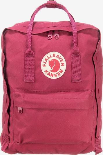 Fjällräven Rucksack 'Kånken' in himbeer / rot / weiß, Produktansicht