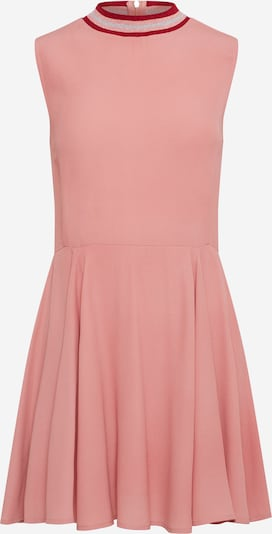 Review Kleid 'RIBCOLLAR' in rosa, Produktansicht