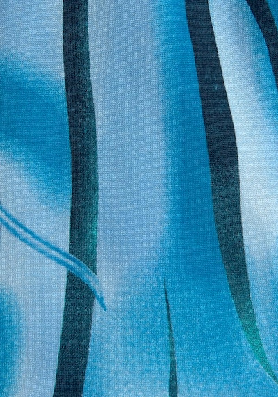 BEACH TIME Strandkleid in blau / dunkelblau, Produktansicht