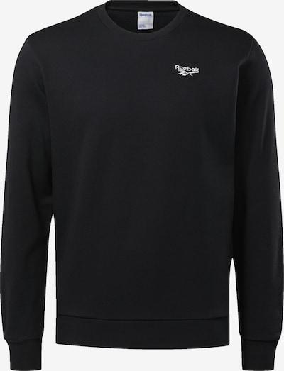 Reebok Classic Sweatshirt in de kleur Zwart / Wit: Vooraanzicht