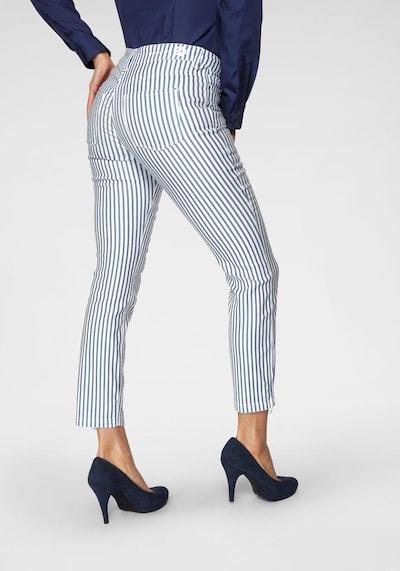 MAC Jeans 'Dream Chic' in blau / weiß, Modelansicht