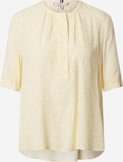 TOMMY HILFIGER Bluzka 'DANEE BLOUSE SS' w kolorze żółty / pastelowo-żółtym, Podgląd produktu