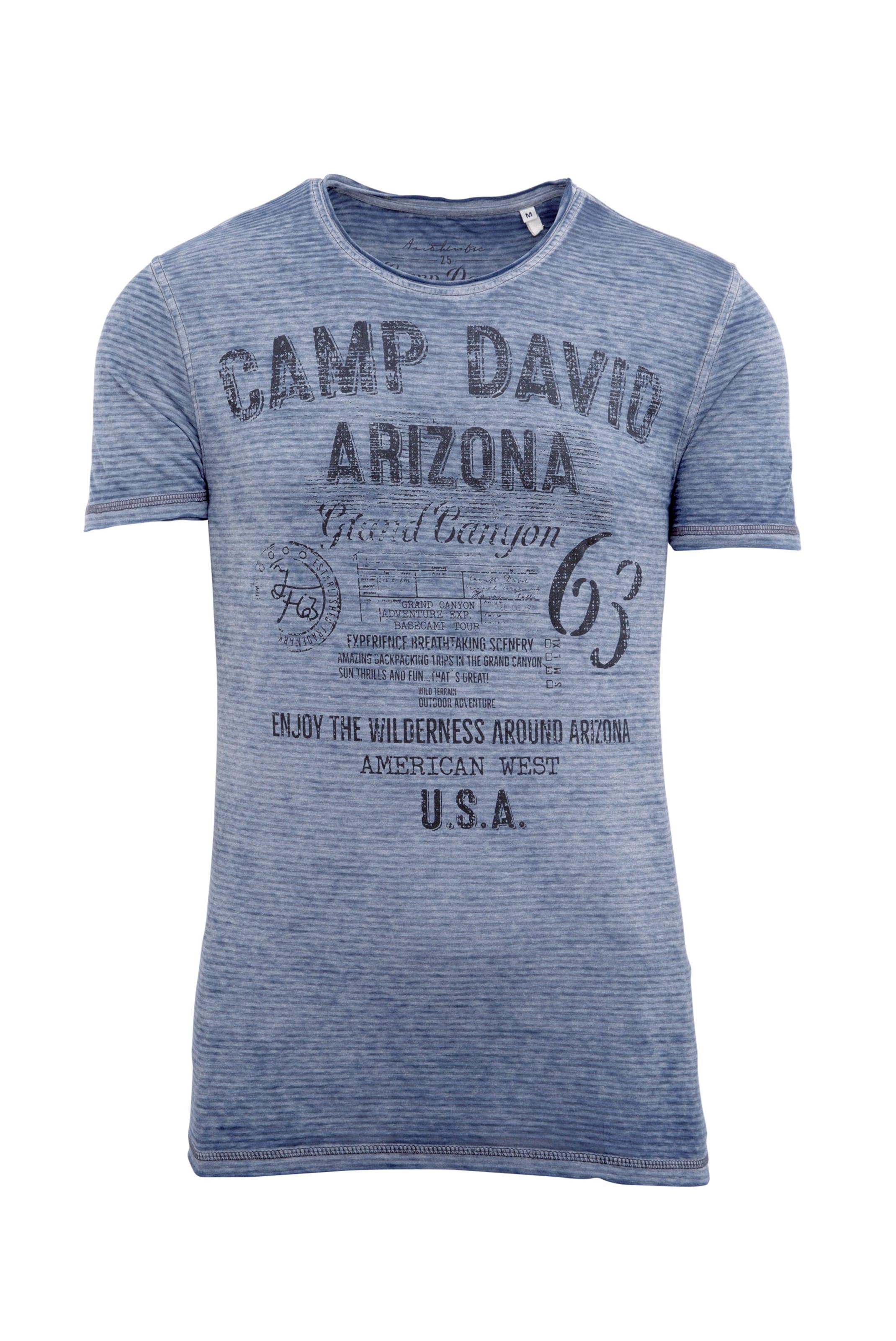T Camp RauchblauNachtblau In shirt David SpUVzM