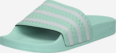 ADIDAS ORIGINALS Muiltjes 'Adilette' in de kleur Turquoise, Productweergave