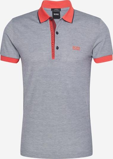 BOSS ATHLEISURE Tričko 'Paule 4' - šedý melír / jasně červená, Produkt