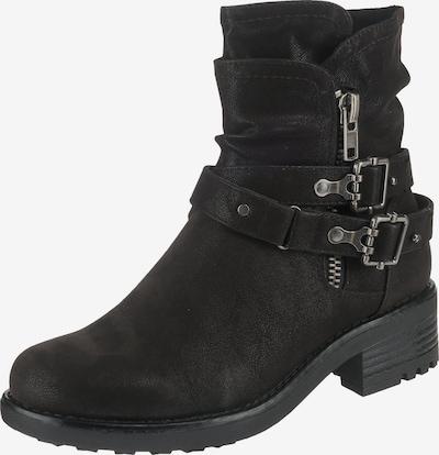 BULLBOXER Biker Boots in schwarz, Produktansicht