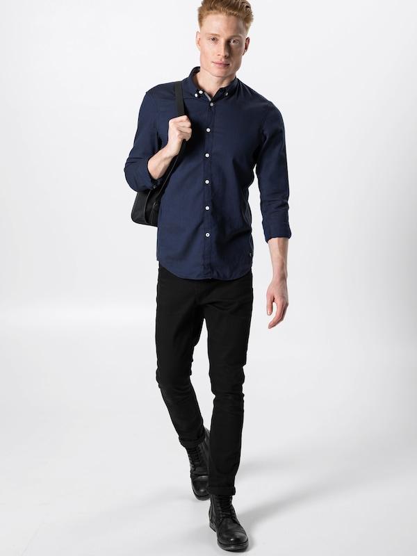 Tom En Bleu Chemise Denim Tailor FoncéNoir I2DH9WeEY