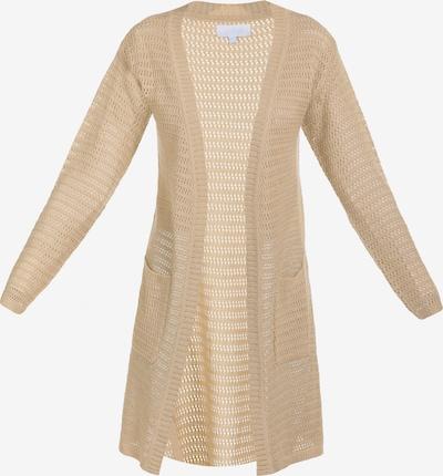 Usha Strickmantel in beige, Produktansicht