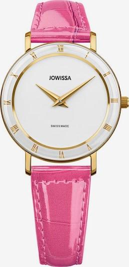 JOWISSA Quarzuhr 'Roma' in pink / weiß, Produktansicht