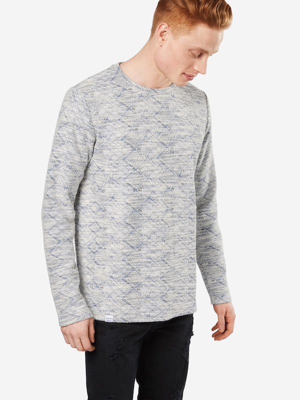 Anerkjendt NuitGris shirt Bleu En Sweat 'steve' Clair Nwv0m8nO