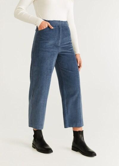 MANGO Kalhoty 'Pan' - modrá, Model/ka