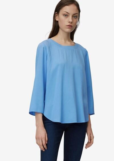 Marc O'Polo Bluse in blau, Modelansicht