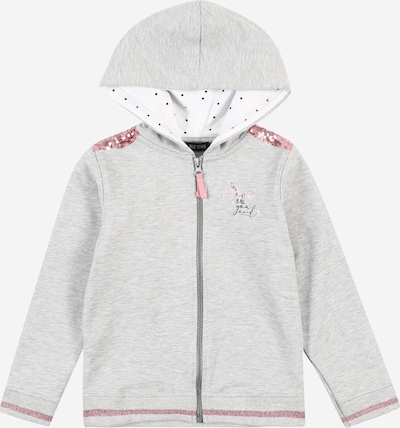 BLUE SEVEN Sweat jacket in grey / pink, Item view