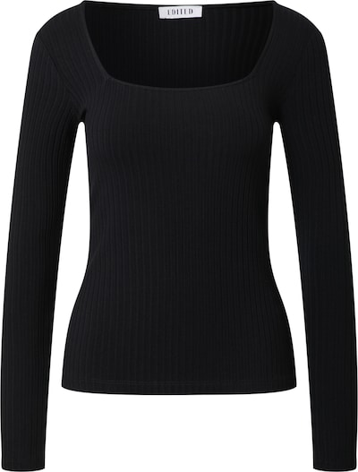 EDITED Shirt 'Valeria' in de kleur Zwart, Productweergave