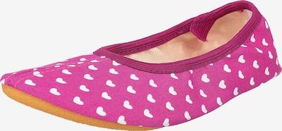 BECK Gymnastikschuh Herzen in pink, Produktansicht