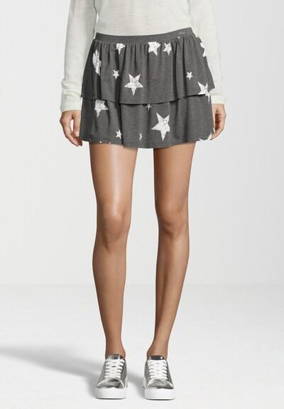 Juvia Jerseyrock STARS in grau / weiß, Produktansicht