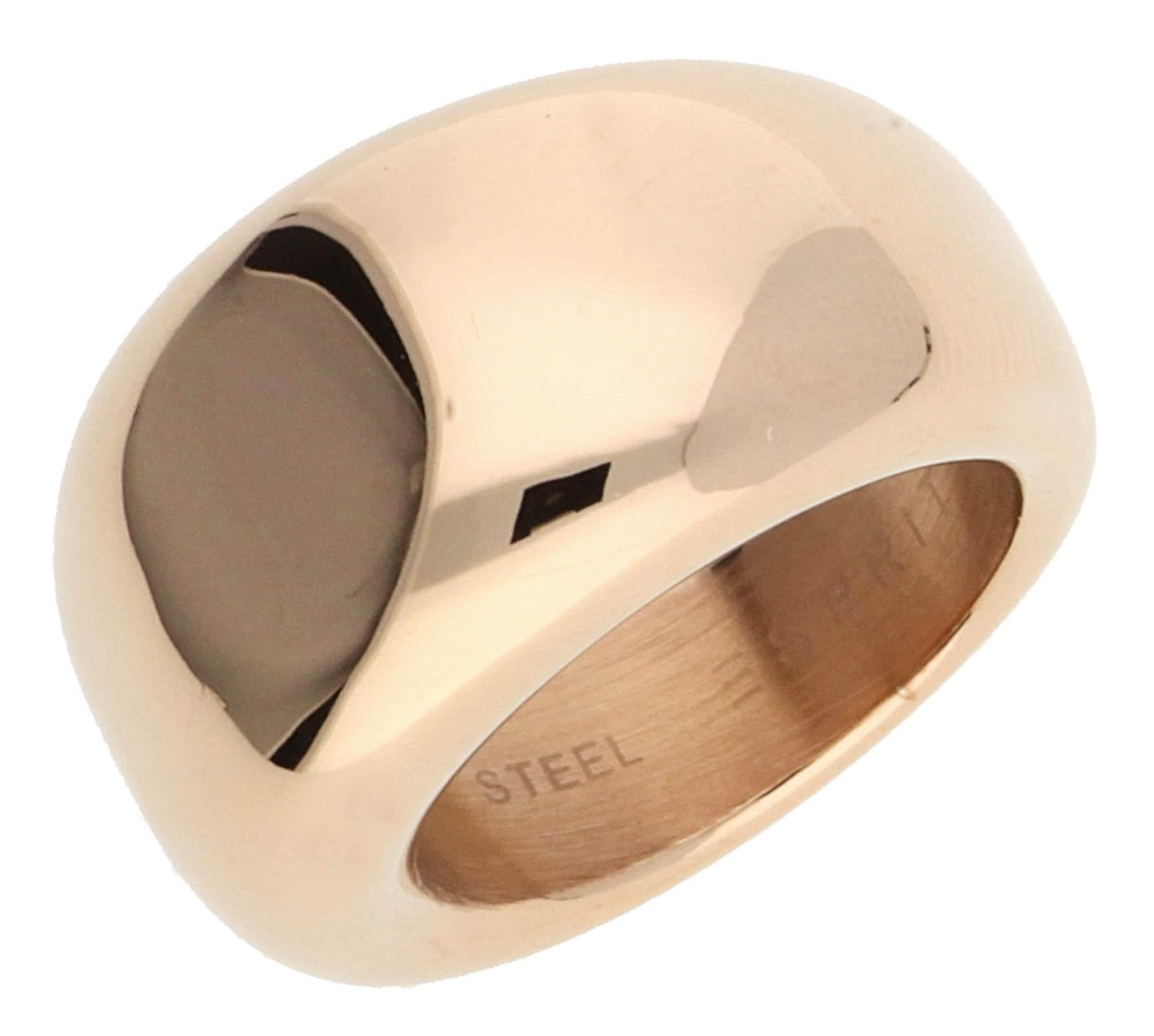 ESPRIT Damen Fingerring Rosegold Bold ESRG12426C Günstig Kaufen Billig HSO8Tvu