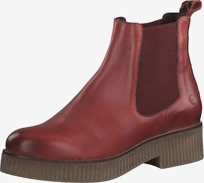 TAMARIS Chelsea Boots in feuerrot, Produktansicht