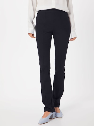Filippa K Broek 'Erin Slim Pant' in de kleur Zwart: Vooraanzicht
