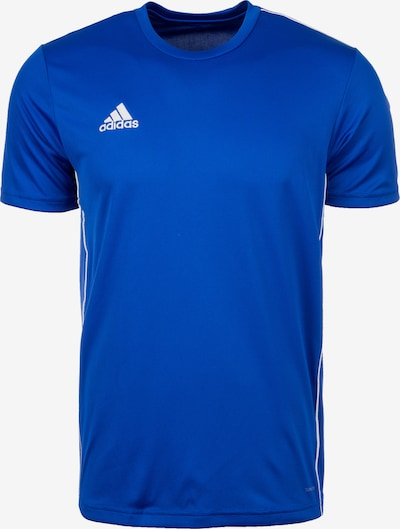 ADIDAS PERFORMANCE Functioneel shirt 'Core 18' in de kleur Royal blue/koningsblauw / Wit, Productweergave