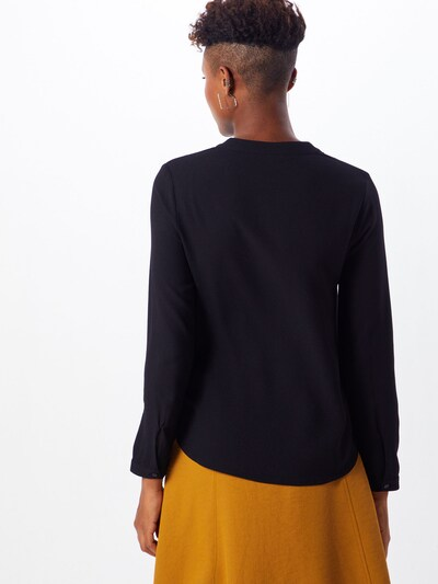 Bluză 'Meline' ABOUT YOU pe negru: Privire spate