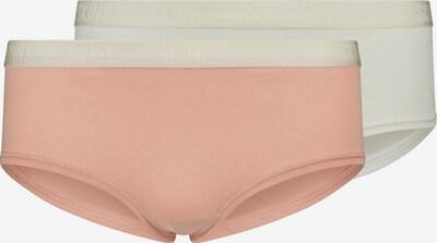 Skiny Panty Lovely Girls im 2er Pack mit elastischem Bundgummi in apricot / weiß, Produktansicht