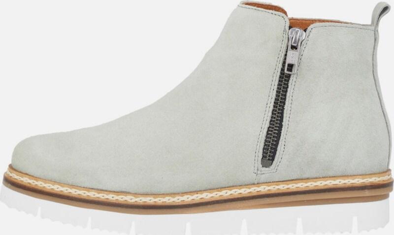 Bianco Reißverschluss-Split-Stiefel