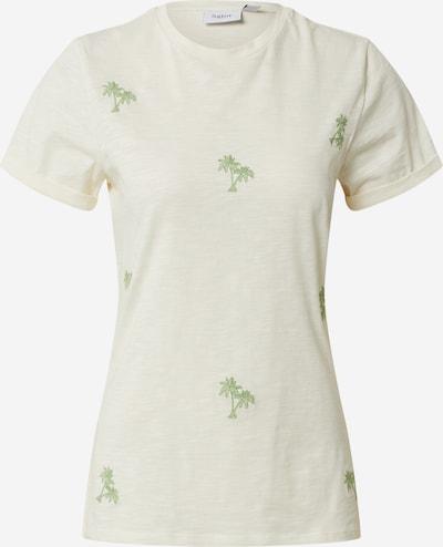 Marškinėliai 'AngelaSZ SS' iš SAINT TROPEZ , spalva - smėlio / žalia, Prekių apžvalga